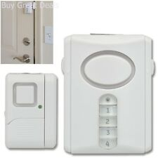 Indoor Home Security Alarm Kit Door Window Keypad Thief Protect Stolen Apartment