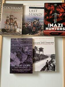 Cassell Military Books x 4 Plus 1