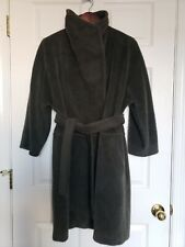 Max Mara  Alpaca & Virgin Wool size 4 - S, Hunter Green Vintage Long  Coat