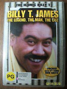 Billy T James DVD The Legend, The Man, The Cuz - New Zealand Comedy Sketch RARE