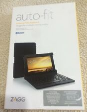 ZAGG Folio Case, 7 Inch, Autofit Hinged, for Android Tablets- Black