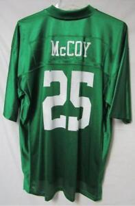 LeSean McCoy #25 Men's Size X-Large Jersey Green A1 753