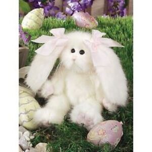 """THE BEARINGTON 9"""" PUFF BUNNY RABBIT BABY TOY #4507 RETIRED ADORABLE NWT"""