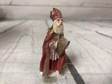 Duncan Royale St. Nicholas Collector's Ed. History of Santa Figurine 1986 Heavy