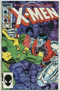Uncanny X-Men 191 First Nimrod High Grade