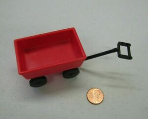 RED PLAY WAGON Marked Beethoven for Fisher Price Loving Family Dollhouse Dog