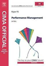 CIMA Official Exam Practice Kit Performance Management, Avis | Paperback Book |
