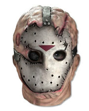 Jason Voorhees Latex Mask Friday the 13th Halloween Full Over Head Adult Mask
