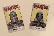 Heroclix Magneto Storm Wanted ID Cards Days of Future Past OP Kit Month Three 3