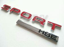 SPORT HSE RANGE ROVER SPORT REAR BADGE VOGUE HST V8 TDV8 LAND AUTUBIOGRAPHY