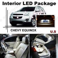 21pcs LED Xenon White Light Interior Package Kit for Acura MDX 2007-2013