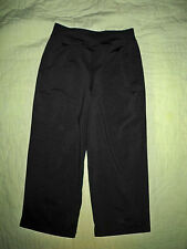 Body Wrappers*Girls*Size 8-10*Black*Stretch*Low Rise*V waist*Relaxed Leg Pants