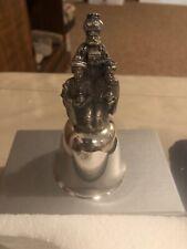 Danbury Mint Silver Bell 3 Wise Men 1980 Men Cib