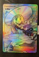 Pokemon Lillie Full Art 147/149 Trainer Sun & Moon Ultra Rare Pack Fresh PSA 10?
