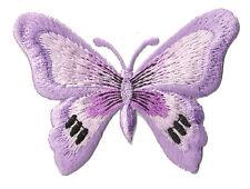 Écusson patche Papillon butterfly mauve patch transfert thermocollant