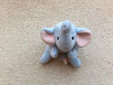 "Ty Original Beanie Babies Elephant called ""Peanut"""