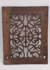 """Cast Iron Victorian Grate (H4L) 9.75 x 7.5"""" Heating Ventilation Duct"""