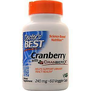 Doctor's Best Cranberry with Cranberex  60 vcaps