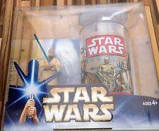 Star Wars A New Hope Obi-Wan Kenobi Figure And Cup