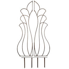 GAR467 H Potter Venus Trellis, Wrought Iron, Patio, Garden, Yard Art, Wall Art