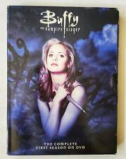 Buffy The Vampire Slayer TV Drana Series The Complete First Season On DVD