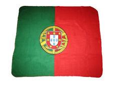 Portugal Flag 50x60 Premium Quality Polar Fleece Blanket Throw