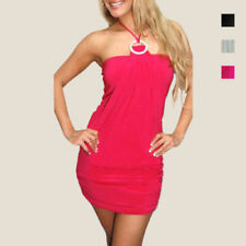 Clubwear Halter Short Sleeve Dresses for Women