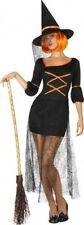 Déguisement Femme Sorcière Araignée M/L 40/42 Costume Adulte Halloween