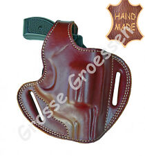 Revolverholster UNIVERSAL- für kleine Revolver(S&W 36)- Braun- Leder- Handarbeit