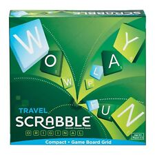 Mattel Travel Scrabble Word Game Crossword Game Age 8+ Years Genuine NEW