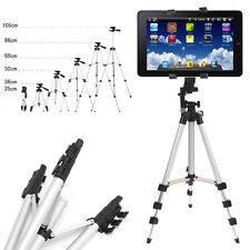 Professional Camera Tripod Stand Holder for iPad 2 3 4 Mini Air Samsung + Bag