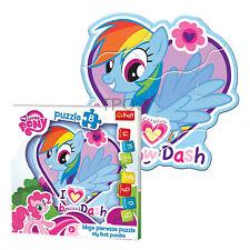 Trefl 8 Piece Baby Kids Infant Girls My Little Pony Rainbow Dash Jigsaw Puzzle