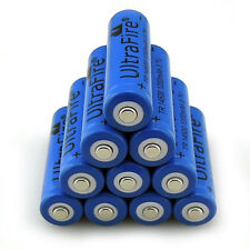 10pcs 14500 3.7V 1200mAH Lithium Li-ion Rechargeable Battery Batteries Cell