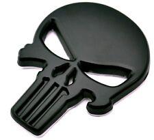 Punisher scull Crome car sticker de metal autoadhesivas Death Head bike auto