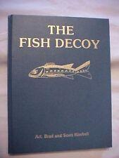 RARE 1987 HB Book THE FISH DECOY VOLUME II by ART, BRAD & SCOTT KIMBALL; FISHING
