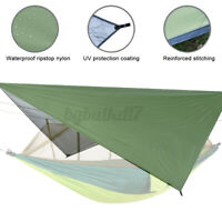 Large Lightweight Waterproof Camping Tent Tarp Shelter Hammock Rain Fly Cover