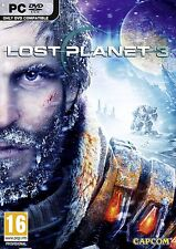 Computer PC Game Lost Planet (III) 3 DVD Shipping NEW
