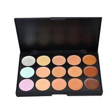 15 Colores CORRECTOR FACIAL maquillaje cosmética PALETA DE 15 COLOR CAMUFLAJE *