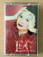 LEA SALONGA In Love... PHILIPPINES OPM Cassette Tape