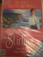 THE WIND FROM THE HILLS AUDIO BOOK UNABR CASSETTE TAPES BOX SET JESSICA STIRLING