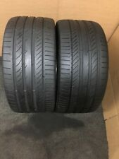 285 30 ZR 21 100Y XL Continental ContiSportContact 5p RO1 2x Tyres Fitting Ava