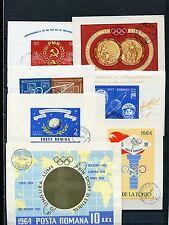 Rumänien - Blocklot o - aus 1961 - 1968  ( 38611 )