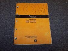 John Deere 490D 590D Hydraulic Excavator Owner Operator User Manual Omat126018