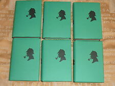 1ST EDITIONS SHERLOCK HOLMES BOOK VOLS 1 TO 6 STRAND MAGAZINE WITH WRAPPERS.