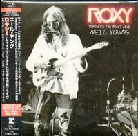 NEIL YOUNG-ROXY - TONIGHT'S THE NIGHT LIVE-JAPAN SHM-CD F45