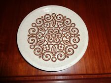 Staffordshire Biltons Brown And Beige Side Plate