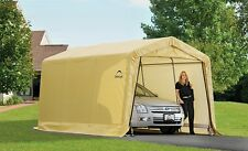 ShelterLogic 10x15 Storage Shed Auto Shelter Portable Garage Steel Carport 62681