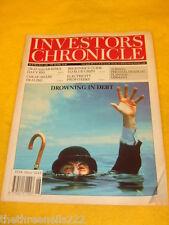 INVESTORS CHRONICLE - DROWNING IN DEBT - JUNE 28 1991