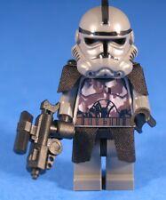 LEGO® brick STAR WARS™ custom Ep 3 CLONE COMMANDER Gray Camouflage DC 15 Blaster