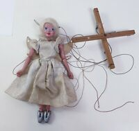 Vintage Pelham Puppet Fairy Angel 1950/60s Blonde Marionette Collectable